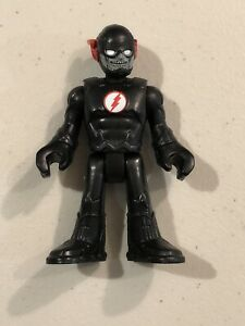 RARE Imaginext DC Super Friends BLACK FLASH Action Figure Fisher Price Toy