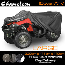 ATV Quad-Bike (Large) Heavy Duty Durable Waterproof Protective Cover