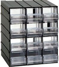 Cassettiera plastica con cassetti impilabile portaminuterie diverse misure