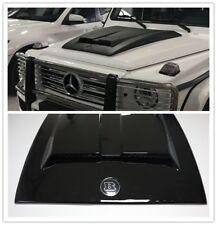 G Class W463 Black Bonnet Scoop Hood New Brabus Style for Mercedes G500 G550 G63