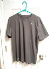 Nike mens dri fit t-shirt large. Green.