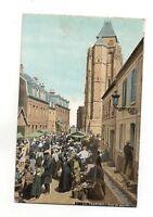 76 - CPA - Le Treport - Jour De Markt (B2134)