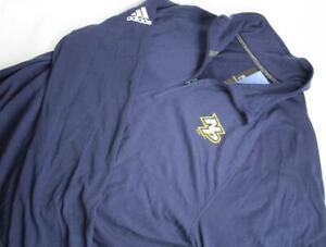 Adidas Mens M NHL Nashville Predator 1/4 Zip Top Shirt Long Sleeve Casual 4712A