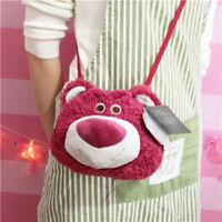 Disney Toy Story Lotso Bear Strawberry Smell Face Shoulder Bag Plush Toy