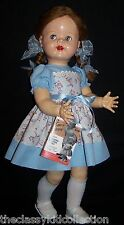 "Beautiful  22"" Saucy Walker Doll  - FREE Shipping in the U.S."