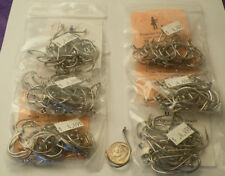 150 Eagle Claw Nickel Live Bait Hooks 4/0 out of bulk purchase
