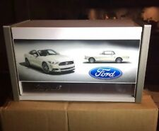 Snap On White Mustang 50th Anniversary Micro Top Tool Chest Box Rare Brand New