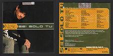 CD SINGOLO PROMO NEK SEI SOLO TU SPECIALE RADIO NOT FOR SALE SIGILLATO SEALED