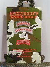 Green Berets Knife Methods Convert Modify Knives Survival Tools Sharpen Blades