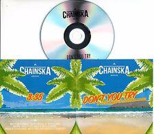 CHAINSKA BRASSIKA Don't You Try 2017 UK 1-trk promo test CD Toots Herbert