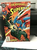 Adventures of Superman #497 (Dec 1992, DC) DOOMSDAY NM UNREAD FIRST PRINT