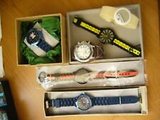 Assortment of Plastic Toy Wristwatches