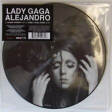 "Lady Gaga Alejandro UK 7"" Vinyl Picture Disc Single 2744130 Polydor 2010"