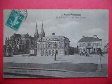 CHOLET  :  La Place Travot....VO.1910.