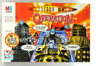 Doctor Who Operation Board Game by MB Games - Complete and working