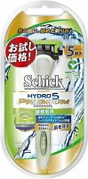 New Schick Hydro 5 Premium Holder for sensitive skin From Japan F/S