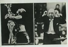 Stravinsky Russe Russian Pc real photo Moscow 1962 ballet Pliseckaya Fadeechev