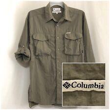 Sz XL COLUMBIA Men's GRT Long Sleeve w/Roll Tab, Button Down Vented Shirt XLarge