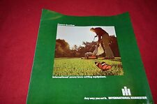 International Harvester Cub Cadet Power Lawn Equi For 1973 Dealer Brochure TEIN