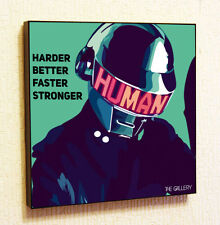 Daft Punk Painting Decor Print Wall Art Poster Pop Canvas Quotes Decals