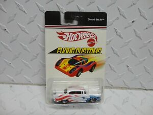 Hot Wheels Flying Customs White '57 Chevy Bel AIr