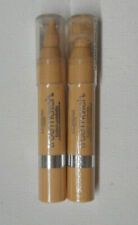 2 tube lot LOREAL TRUE MATCH CRAYON CONCEALER W1-2-3 FAIR/LIGHT sealed FLAW