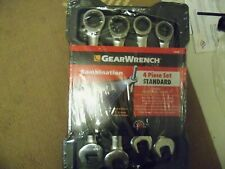 GearWrench 4pc Large SAE  (standard) Ratcheting Wrench set