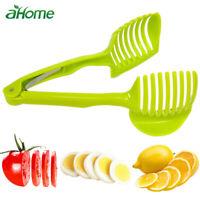 Kitchen gadgets Clip Fruit Vegetable Slicer Tool Cutter Holder Supplies