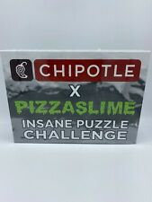 Chipotle X Pizzaslime Insane Puzzle Challenge 1000 Piece (FREE SHIPPING)