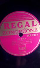 """GRACIE FIELDS,10""""78,AVE MARIA/THREE GREEN BONNETS,ZONOPHONE(MR 1917)"""