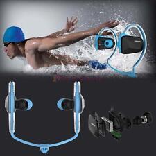 Bluetooth Wireless Sports Stereo Waterproof Swimming Headsets Ear/Headphone L F6