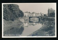 Somerset BRIDGWATER The River Judges' Proof c1950s? RP PPC plain back