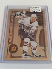 1997-98 Donruss Priority Direct Deposit #5 Ryan Smyth 261/3000 : Edmonton Oilers