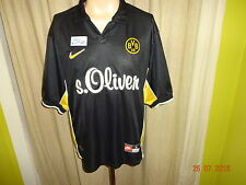 "Borussia dortmund original nike saliente camiseta 1999/00 ""S. Oliver"" talla L"