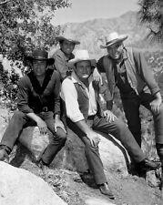 Western TV Show BONANZA Glossy 8x10 Photo Poster Michael Landon Lorne Greene