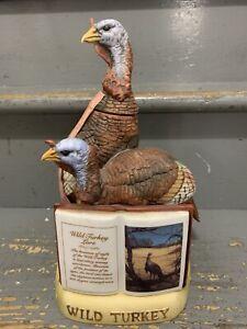 1981 Austin Nichols Wild Turkey Decanter Series 2, #3 Wild Turkey Lore