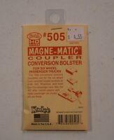 HO Scale Kadee #505 Magne-Matic Coupler Conversion Bolster For 6 Wheel Pas Trks
