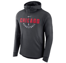 Chicago Bulls Mens Nike Player Practice THERMA-FIT Pullover Hoodie - XXL - NWT