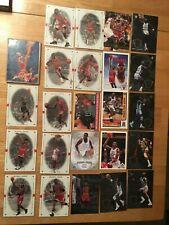 Lot Of 24 Michael Jordan Cards and Insert