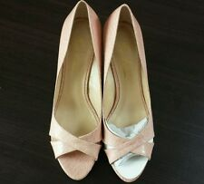 New Marc Fisher Summer heels, Light pint 9 1/2 M , open front