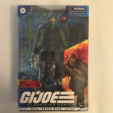 G.I.Joe CLASSIFIED BEACH HEAD (Blue Eyes) Cobra Island Target Exclusive