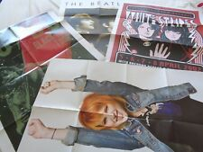Posters Of Bands  / Musicians 60s -Present Day Extra Large