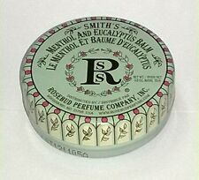 SMITH'S Rosebud Menthol and Eucalyptus Lip Balm Moisturizing Skin Therapy TIN