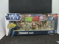 TOYS R US TRU EXCLUSIVE STAR WARS PODRACERS PILOT Action Figure Set