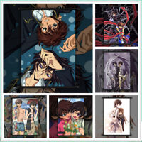 Code Geass BL Yaoi Lelouch Suzaku Anime Wall Art Poster Scroll Home Decoration