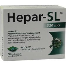 Hepar SL 320 mg capsule rigide 50st 9530432