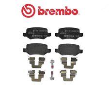 P50058 Kit pastiglie freno a disco post.Mercedes Classe A (W168) (MARCA-BREMBO)