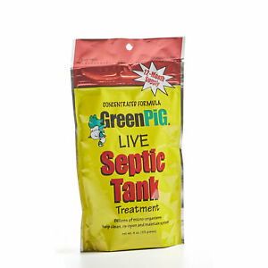 GreenPig Solutions Concentrated Formula Live Septic Tank Treatment 12 Months
