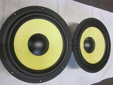 "NEW (2) KRK 12"" Subwoofer Speaker PAIR.4 ohm.V12s.12s.Studio BASS.Driver.woofer"