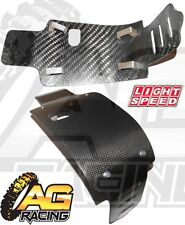LightSpeed Carbon Fibre Skid Plate For Suzuki RMZ 450 2005-2007 05-07 Enduro New
